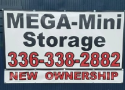 MEGA MINI STORAGE logo