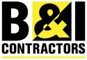 B&I Contractors logo