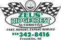 Zeus' Ridgrcrest Automotive  logo