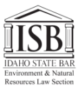 Idaho State Bar Environment & Natural Resources Sectino logo