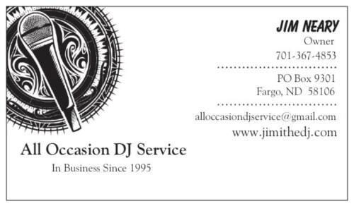 All Occasion DJ Services logo