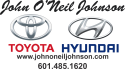 John O'Neil Johnson Toyota logo