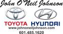 John O'Neil Johnson Toyota logo