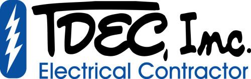 TDEC. Inc., Electrical Contractor logo