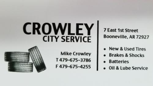 Crowley City Service logo