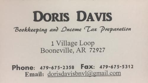 Doris Davis Income Tax Preparation & Bookkeeping   logo
