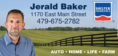 Jerald Baker Shelter Insurance logo