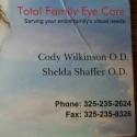Total Family Eyecare logo