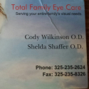 Total Family Eyecare logo