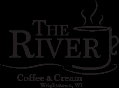 The River Coffee & Cream logo