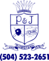 P and J Oysters logo