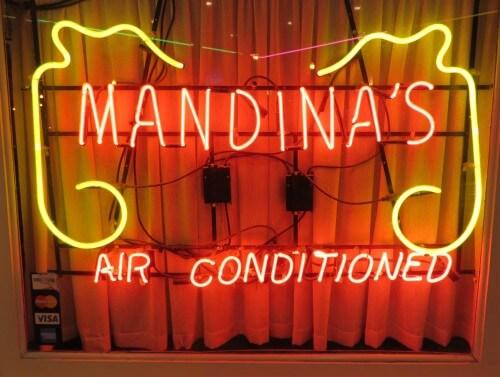 Mandina's  logo