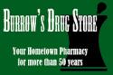 Burrow's Drug Store logo