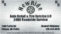 New Ride Tire Services LLC logo