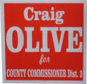 Craig Olive for County Commissioner Dist. 3 logo