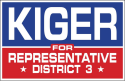 Lundy Kiger for State Representative Dist. 3 logo