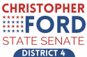 Chris Ford for State Senate Dist 4 logo