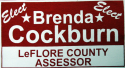 Brenda Cockburn for LeFlore County Assessor logo