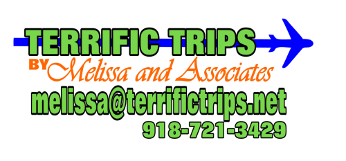 Terrific Trips by Melissa & Associates logo