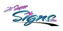 A-1 Super Signs logo