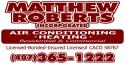Matthew Roberts A/C logo