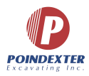 Poindexter Excavating, Inc. logo