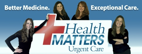Health Matters Urgent Care logo