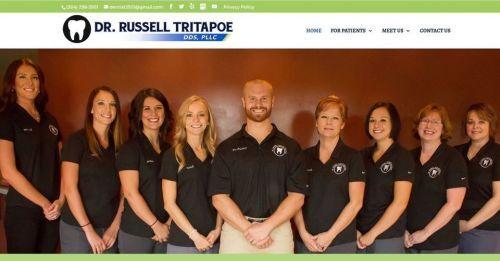 Dr. Russell Tripatoe, DDS, PLLC logo
