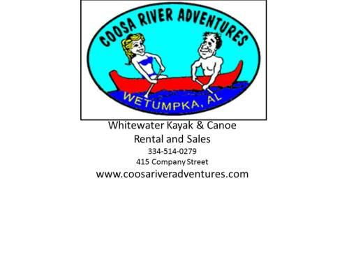 Coosa River Adventures logo