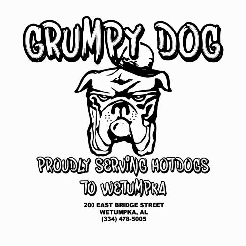 Grumpy Dog logo