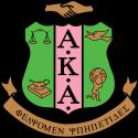 Alpha Kappa Alpha Sorority, Inc. Zeta Xi Omega Chapter logo