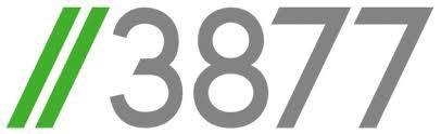 //3877 Design logo