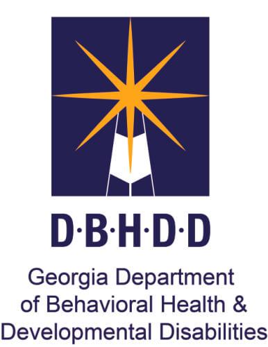 Georgia Department of Behavioral Health and Developmental Disabilities logo