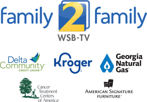 WSB-TV Family2Family logo