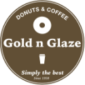 Gold-N-Glaze Donut & Coffee Shop logo