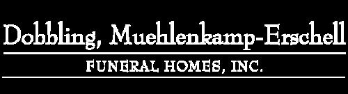 Dobbling, Muehlenkamp-Erschell Funeral Homes logo