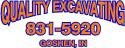 Quality Excavating logo