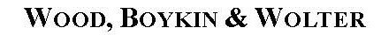 Wood Boykin & Wolter P.C. logo
