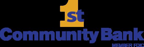 First Community Bank logo