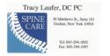 Tracy Laufer, DC PC logo