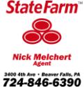 Nick Melchert, State Farm Insurance logo