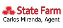 Carlos Miranda State Farm logo