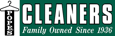Pope's Cleaners logo