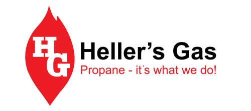 Heller's Gas logo