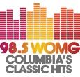 WOMG-FM logo