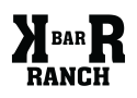 K BAR R RANCH  logo
