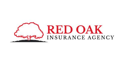 RED OAK INSURANCE AGENCY logo