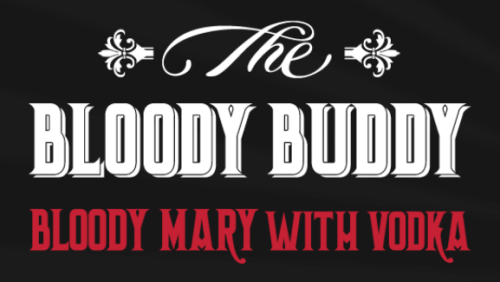 The Bloody Buddy logo
