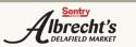 Sentry Albrecht's Delafield Market logo