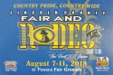 Lincoln County Fair & Rodeo logo